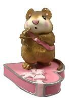 Wee Forest Folk M-94 Pink Cupid Mouse With Box