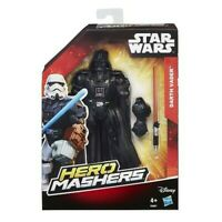 ACTION FIGURE STAR WARS HERO MASHERS DARTH VADER PERSONAGGIO NUOVO HASBRO 15 CM