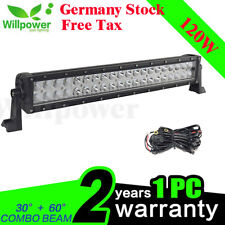 22inch 120W COMBO LED Work Light Bar Offroad Driving Lamp SUV Car Boat UTE Truck