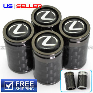 VALVE STEM CAPS WHEEL TIRE FOR LEXUS 4PC 2 COLOR OPTION - VC02 VC27