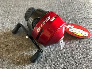 New - ZEBCO 606 Red Spincast Reel Spooled w/20# Line OEM BULK 606KR
