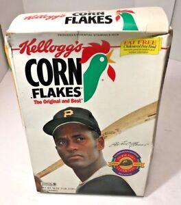 Corn Flakes Roberto Clemente 1934 - 1972 Full Box Pgh Pirates
