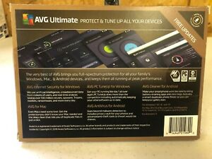 AVG Ultimate Protect & Tune Up Unlimited Devices 1 Year - PC Walmart Exclusive