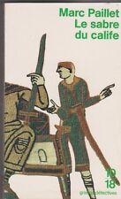 Marc Paillet - Le sabre du calife - grands détectives. Erwin le Saxon . 21/11
