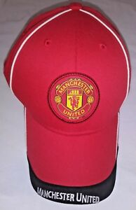 Manchester United MANU Youth Size Youth Red Strapback Official Cap Hat