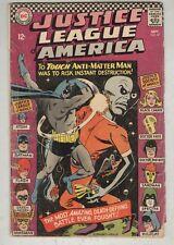 Justice League of America #47 September 1966 G Jsa Crossover