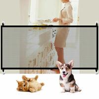 Pet Dog Puppy Magic Gate Guard Mesh Safety Enclosure Fences Net Portable Folding