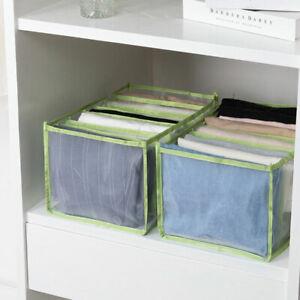 Foldable Storage Leggings Denim Jeans Draw Divider Organiser Container Box