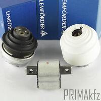 LEMFÖRDER 25401 01 Gearbox Mounting + 2x Motor Bearings Hydro Storage Mercedes