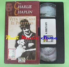 film VHS cartonata VITA DA CANI IL PRESTITO Charlie Chaplin VIDEO (F77) no dvd