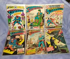 Dc Comics Superman Lot Bronze Age 70's 80's (All Bagged & Boarded)