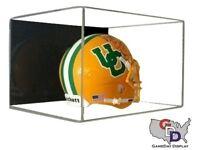 ACRYLIC WALL MOUNT MINI HELMET DISPLAY CASE UV HOLDER NFL NCAA Football A
