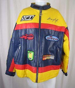 Boff Racing Worldwide Motocross Assoc 2000 World Superbike Finals Jacket Mens XL
