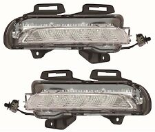 CHEVY CRUZE 2015 2016 DAYTIME RUNNING LIGHTS FOG BUMPER LAMPS PAIR SET