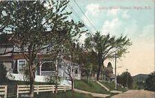 Postcard Nova Scotia Digby Queen St Terrace Unused Souvenir Post Card c1907-15