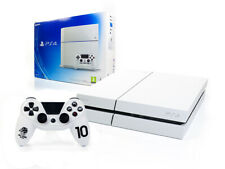 Sony Playstation 4  - PS4 Konsole 500GB - WEISS +NEUER Subsonic Wired Controller