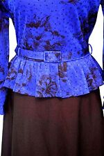 Cute Vintage 80s peplum dress
