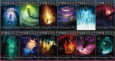 NEW Christopher Pike SPOOKSVILLE Series Collection of Books 1-12! Paranormal