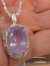 17.33 ct Lavender Amethyst Silver Gemstone Pendant