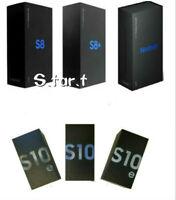 NEW Samsung Galaxy S10 S10+ S10E S9 S9+ S8 S8+ Note8 Note9 Original Retail Box