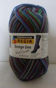 Regia 3870 Misty Colour ~ Kaffe Fassett ~ 4 Ply multicoloured sock yarn x 50g