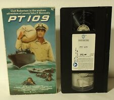 PT 109 (VHS, 1988) Cliff Robertson JFK