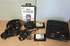 SEGA Mega Drive 1 Konsole PAL mit 3 Spielen Gebraucht