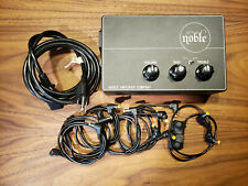 Noble Dual Vacuum Tube Preamp, Direct Box, and DC Power Supply