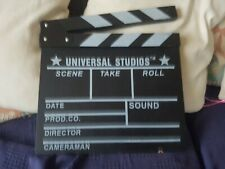 Universal Studios Movie Directors Clap Board