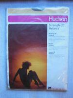 Strapsstrümpfe Hudson 20 Helcana Vintage Nylon Diamant  Gr. III 10,5-11