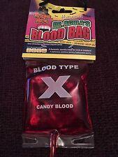 Halloween Candy Sac de sang, le docteur acula, gothique, horreur, Sour Candy, Vegan friendly