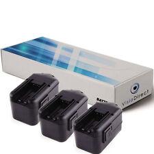 3 batteries 3300mAh pour Milwaukee 0521-20 0521-21 0521-22 0522-20 0522-21