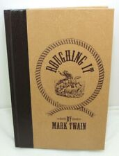 Roughing It By Mark Twain Hardcover Book