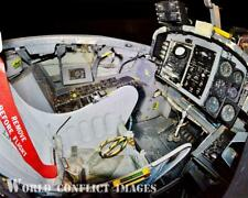 USAF Martin B-57B Canberra Bomber Rear Cockpit #2 8x10 Color Photo