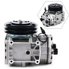 New York Type Ac Compressor For Freighliner Kenworth Peterbilt 2 Groove Clutch