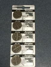 5 x ENERGIZER CR2032 Lithium 3v Coin Battery Australia Stock SAME DAY SHIPPING