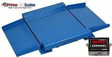 Optima Scale Op 921 1000 Lbs X 2 Lb Ultra Low Profile Drum Scale 36 X 36