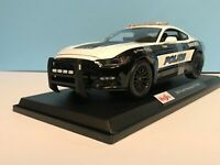 Maisto 2015 Ford Mustang GT Police Car 2020 New Release Special Edition #31397