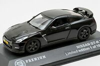 Nissan GT-R in Black, 2014, Triple9 T9P-10007, scale 1:43, adult car gift