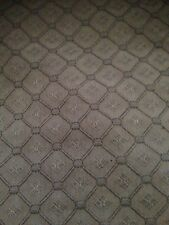 BRUNSCHWIG & FILS Fabric Remnant 1 Yard 38x54 Cedric Woven Texture Blue 89008-02