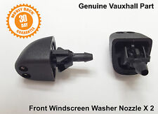 Vauxhall Opel Vivaro Washer Jets Jet Nozzle Front Windscreen Spray 2 x Genuine