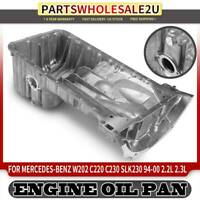 Lower Engine Oil Pan for Mercedes Benz W202 C220 C230 W170 SLK230 1110140802