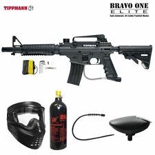 Maddog Tippmann Bravo One Elite Bronze Paintball Gun Package - Black