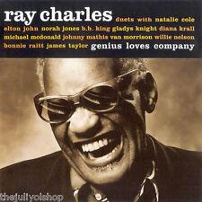 CD Ray Charles ....Genius Loves Company......unico en tienda..