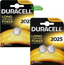 3 x Duracell CR2025 3V Lithium Coin Cell Battery 2025, DL2025, BR2025, SB-T14