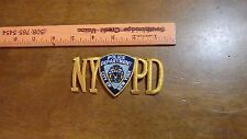 NEW YORK CITY POLICE DEPARTMENT NYCPD PATCH K-9 STATE TROOPER BX D #4