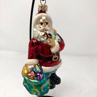 Christopher Radko Blown Glass No Time Like The Present 2000 Christmas Ornament