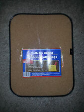 "Bulletin Board  with pins! locker, dorm, kitchen, office, 8.5"" x 11"" cork  mini"