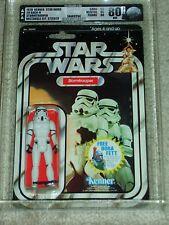 Vintage Star Wars 1979 KENNER AFA 80 STORMTROOPER ANH 20 Back-H Card MOC CLR BUB