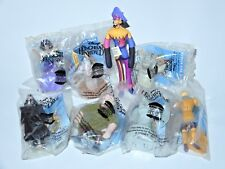 HUNCHBACK OF THE NOTRE DAME KIDS CLUB SET (8X) 1996 BURGER KING PROMO TOY